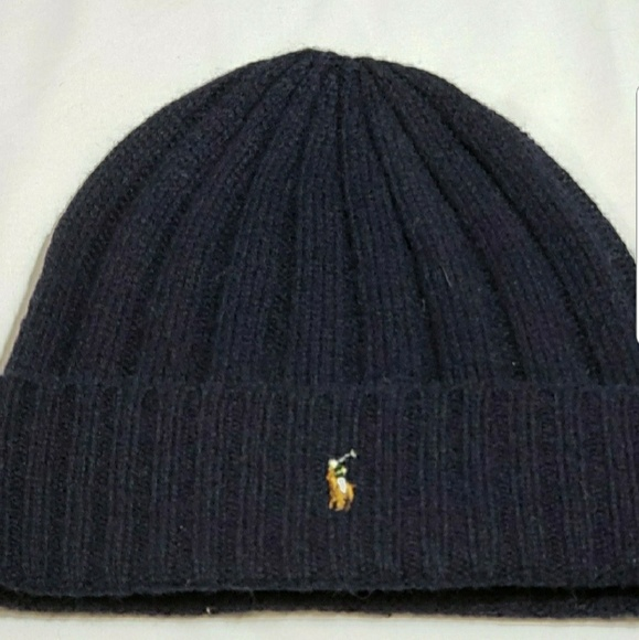 Polo Ralph Lauren Men s Skull Cap Beanie Wool Cuff 72f89378ea7